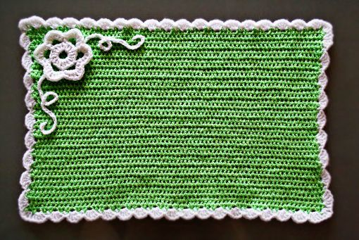 Crochet Spring Placemat « Crafts « Zoom Yummy – Crochet, Food, Photography