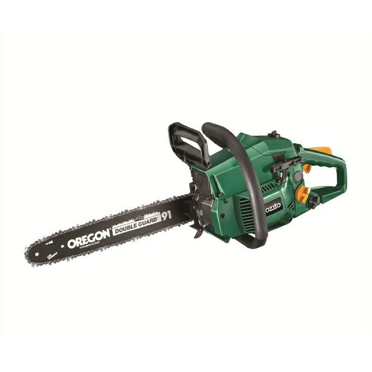 Ozito Petrol Chainsaw 37.2cc 406mm SKU 00300531   Bunnings Warehouse