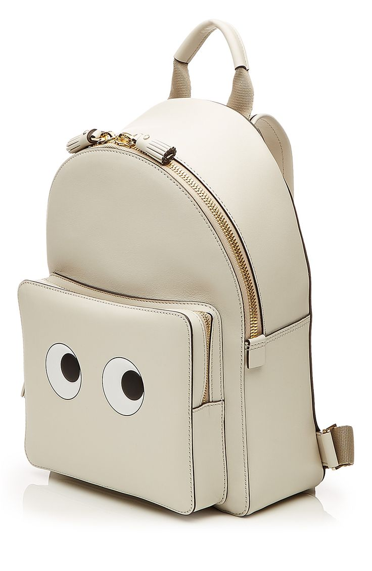 ANYA HINDMARCH - Leather Eyes Mini Backpack #STYLEBOP