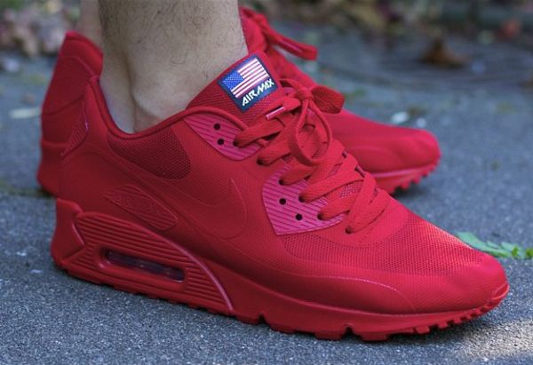 nike air max 90 independence day all black
