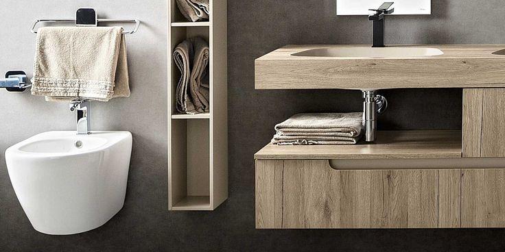 La linea #Ryo di @cerasabagni  è caratterizzata da un #design minimal e versatile in grado di adattarsi a tutti gli spazi grazie alle sue soluzioni angolari. www.gasparinionline.it #arredobagno #interiors #bagno #brescia #arredamento #mobili