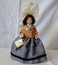 ancienne poupée PETITCOLLIN celluloid JANIG Villedieu les poeles (Le Minor ?)