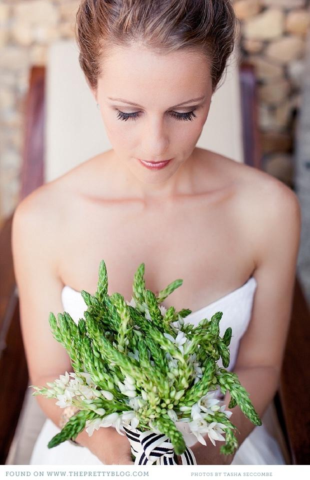 Green bouquet   Photo: @Tasha Seccombe