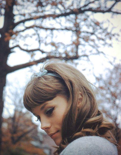 Françoise Dorléac by Peter Basch, Paris 1960