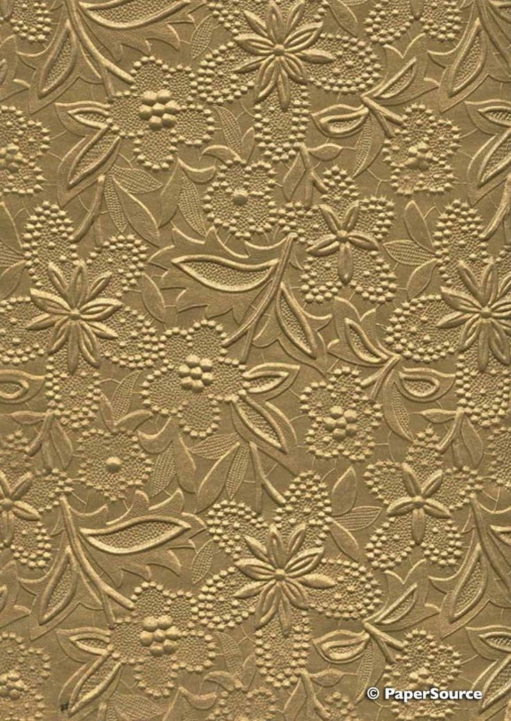 Crafty Paper - Embossed Pearlescent Bloom - Gold, $2.35 (http://www.craftypaper.com.au/embossed-pearlescent-bloom-gold/)