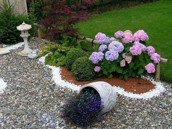 Garden Design With Decorative Stones