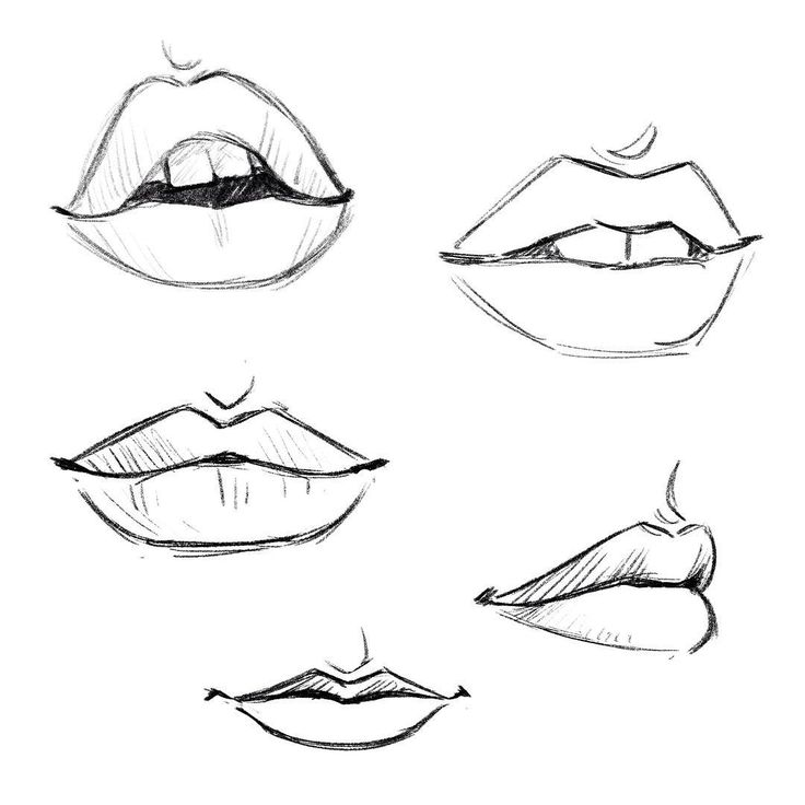 Best 25 mouth drawing ideas on pinterest for How to draw cute lips