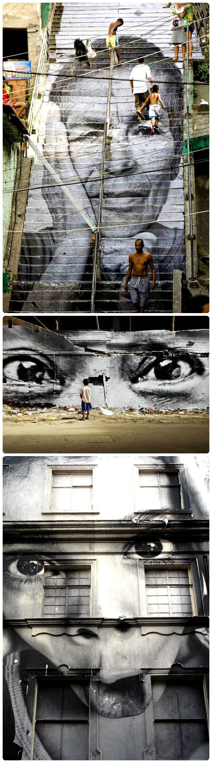 The street art of JR