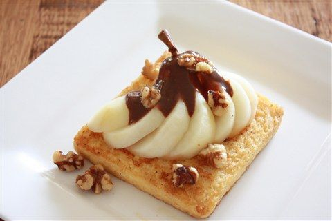 We're nuts for Nutella and Pear!