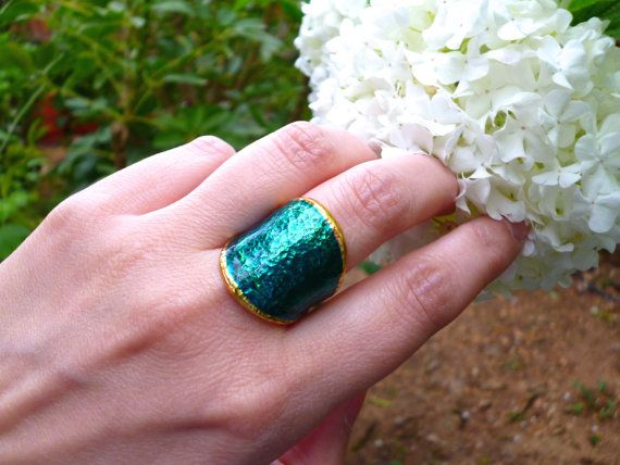 Hey, I found this really awesome Etsy listing at https://www.etsy.com/listing/270021459/emerald-ring-wide-band-ring-hammered