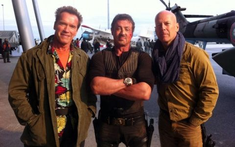 Bulgaria: Filming with Bruce and Sly for The Expendables 2