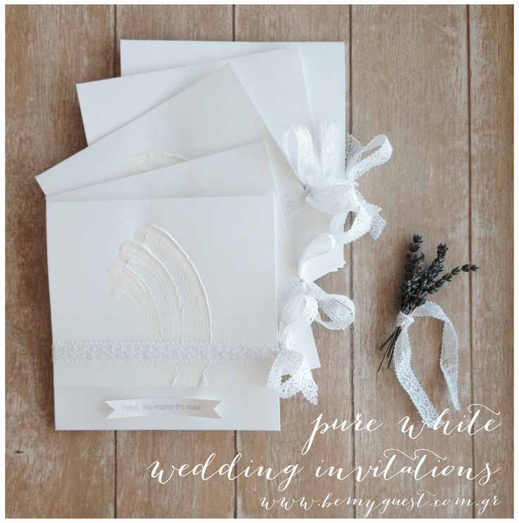 handmade wedding invitations | wedding in Rhodes | www.bemyguest.com.gr