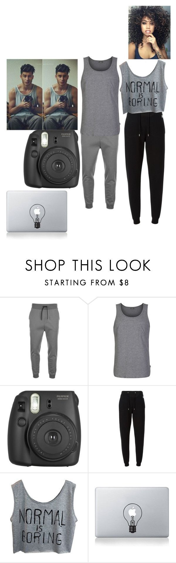 """Brother and Sister Picture: Toni Mahfud"" by alicia45-i ❤ liked on Polyvore featuring HUGO, Bench, Kenzo and Vinyl Revolution"