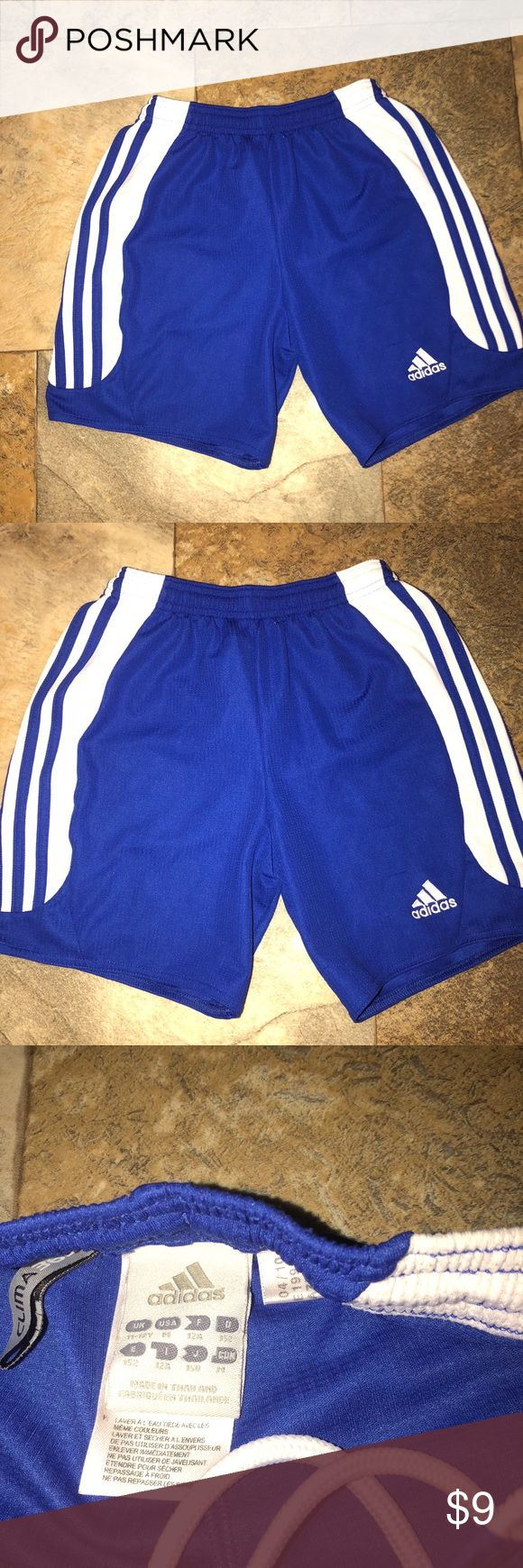 Adidas Soccer shorts Euc Youth Medium (6-8) Adidas Soccer shorts Euc Youth Medium (6-8) minor wear shown in pictures adidas Bottoms Shorts