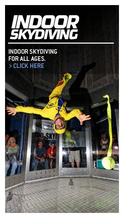 Skydive Perris California Skydiving  Indoor skydiving...much safer and my son can do it too!
