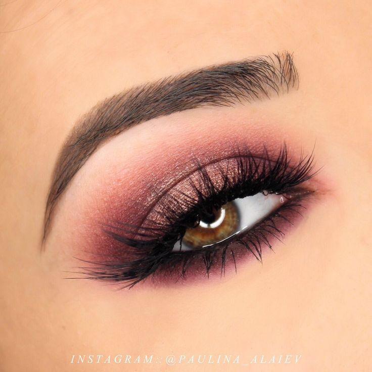 Makeup Geek Eyeshadows in Aphrodite, Frappe, Luna and Mars + Manny MUA x Makeup Geek Palette. Look by: Paulina Alaiev