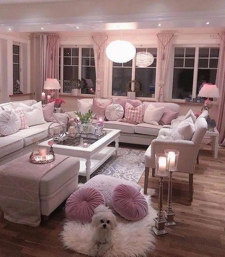 Wohnzimmer Deko Pink - Minimalistisches und modernes ...