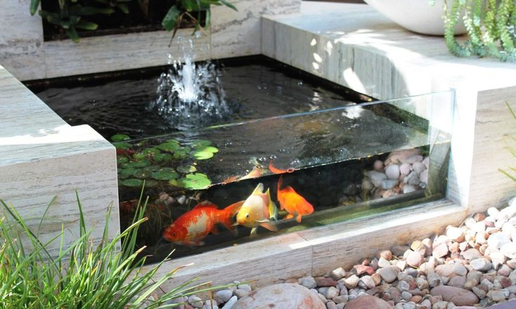 how to build a raised brick pond