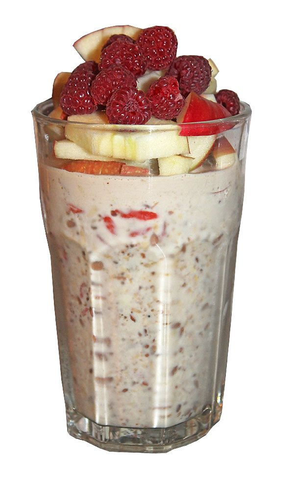 Fitness-Frühstück Overnight Oats - Dein Start in den Tag