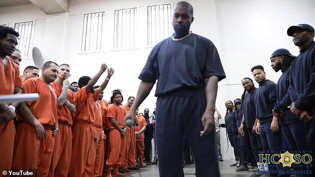 Watch Kanye West And His Sunday Service Choir Perform At Texas Prison Kanye West Texas Prison Kanye