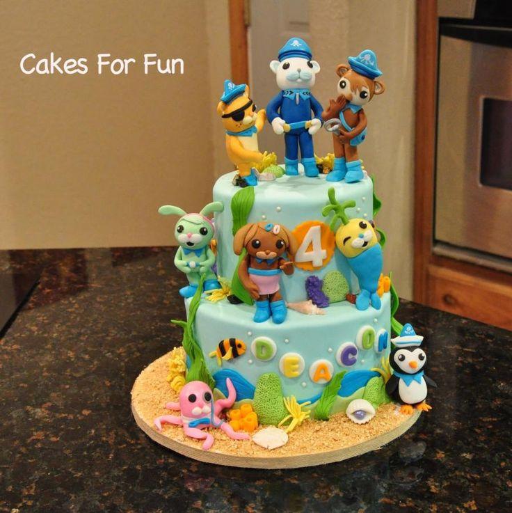 266 best Octonauts images on Pinterest Birthday cakes Birthday