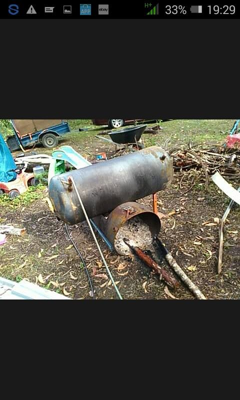 My hot water Donkey setup...