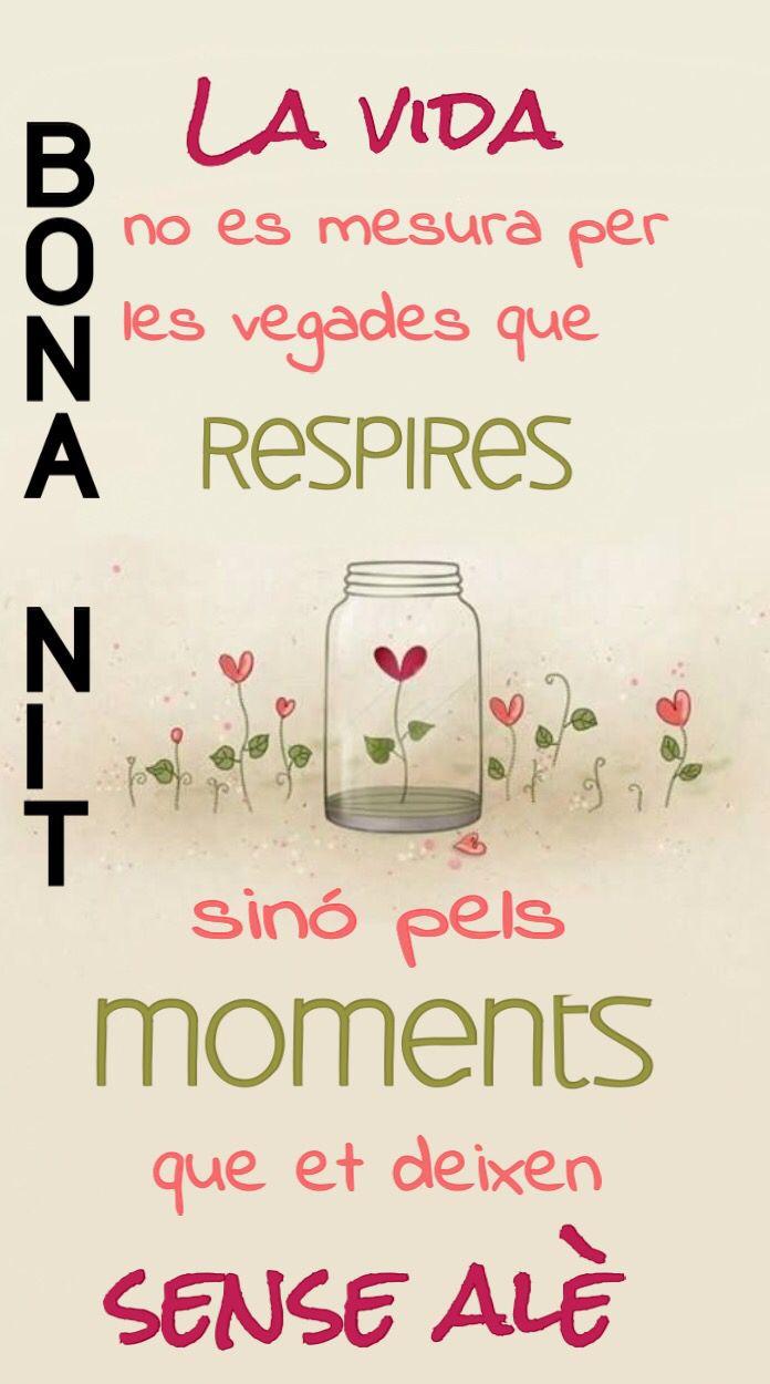 1000 images about bona nit on pinterest tes amor and - Amor en catalan ...