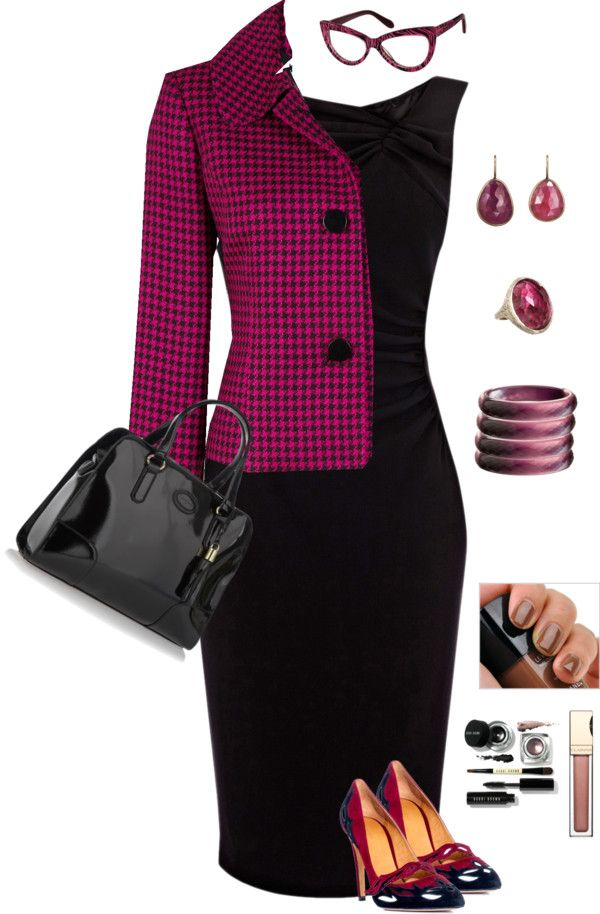 """""""Executive Secretary look"""" by monicaprates on Polyvore"""