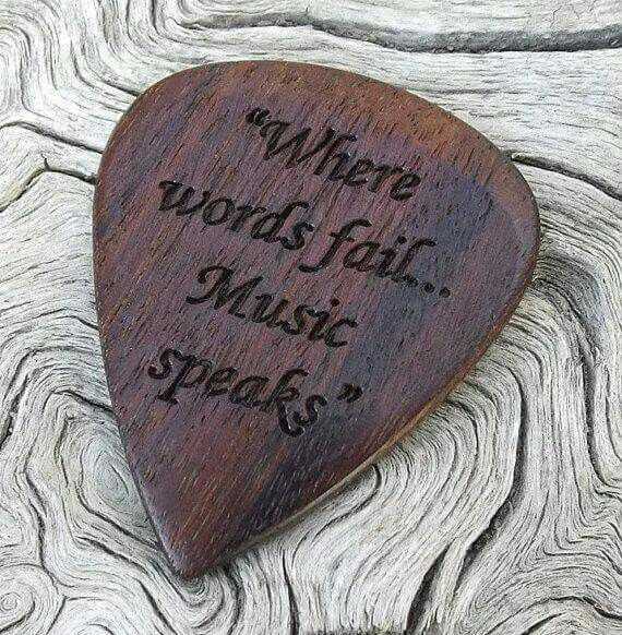 WHEN MUSIC SPEAKS