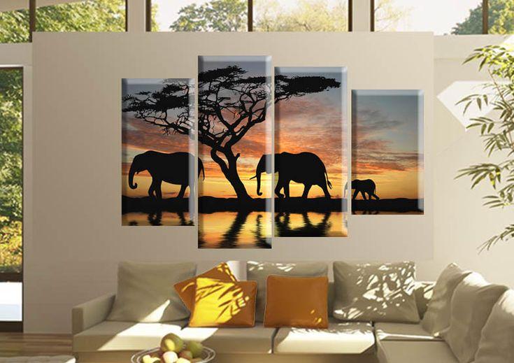 Tablou Africa 51741 Dimensiuni: 30x55 cm - 30x65 cm - 30x75 cm - 30x85 Total: 120x85 cm  http://etablou.ro/osc/product_info.php/cPath/53/products_id/604 Telefon : 0755-62.92.37