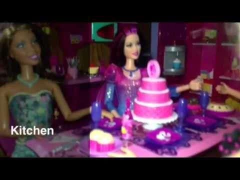 My Barbie House Tour 6/12/13