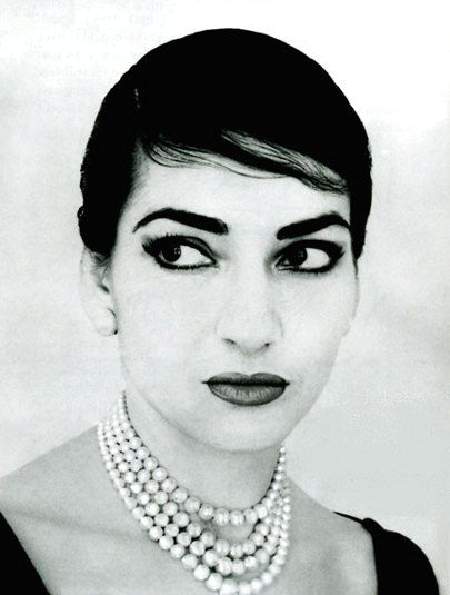 Uniqueness of her Angelic Voice made here an Opera Superstar, Maria Callas