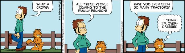 Garfield for 7/4/2017