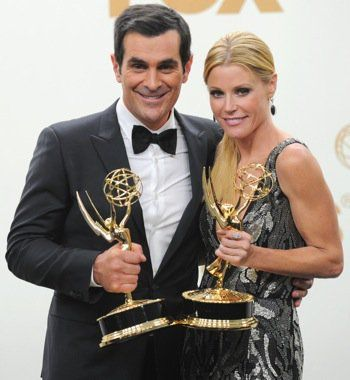 Modern Family's Ty Burrell Calls His Wife a Saint After Emmys ...