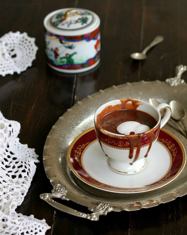CIOCCOLATA CALDA CREMOSA ricetta cioccolata calda come al bar