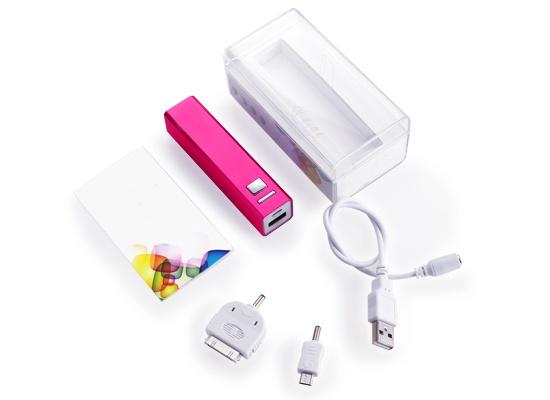 IBat 2200 - Carga tu celular en donde quiera que estés con esta batería portátil. iBat es compatible con iPhone, Blackberry, iPad, Android, PSP, Cámara digital, etc. Precio de oferta $399