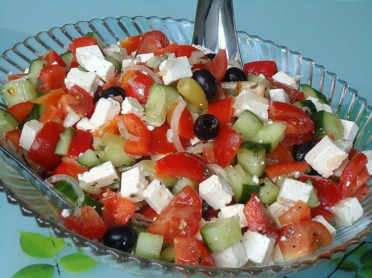 Griechischer Bauernsalat, ein raffiniertes Rezept aus der Kategorie Eier & Käse. Bewertungen: 213. Durchschnitt: Ø 4,5.