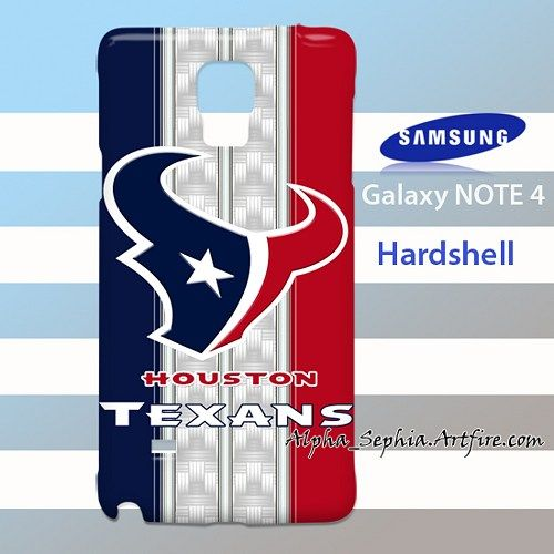 HOUSTON TEXANS Carbon Stripes Samsung Galaxy Note 4 Case Cover