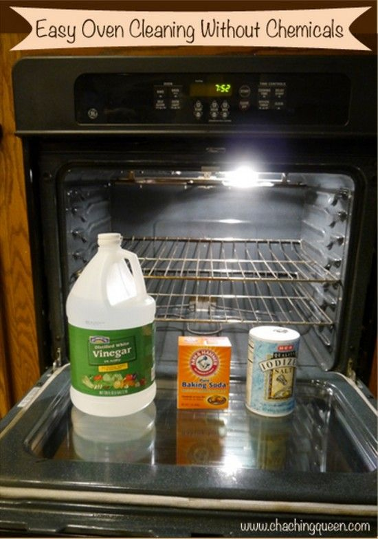 Clean your Oven without Chemicals