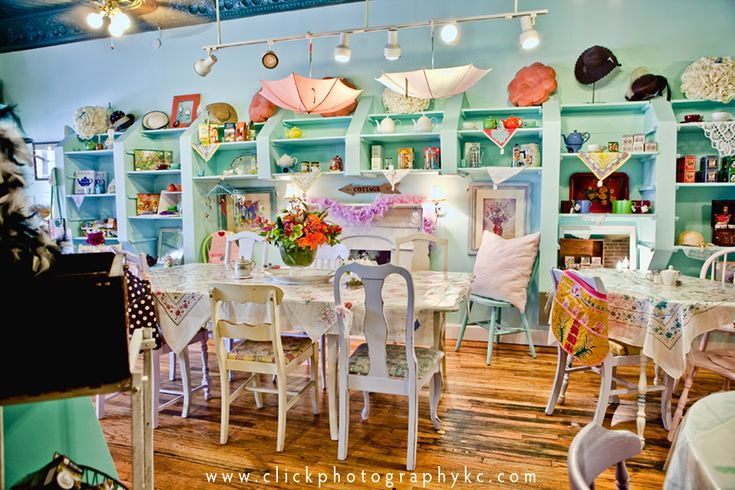 tea room | Click Photography: Shabby Hattie's Tea Room in Parkville