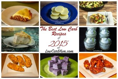 Best low carb recipes of 2015