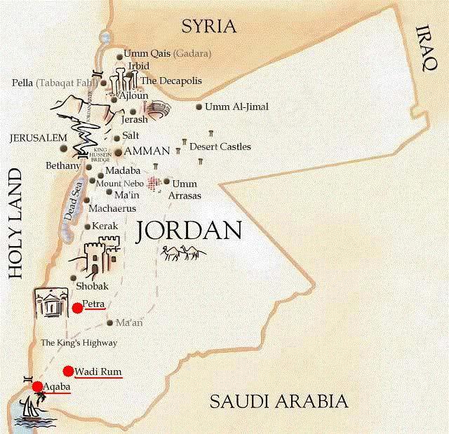 Jordania es un país que pertenece al continente asiático y que se encuentra en la región de Oriente Medio.         ¿Y por qué Jordania? Dir...