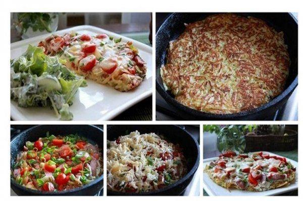 Placek ziemniaczany ala pizza ♥♥♥ Pyszny!!!