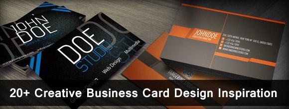 20  Creative Business Card Design Inspiration