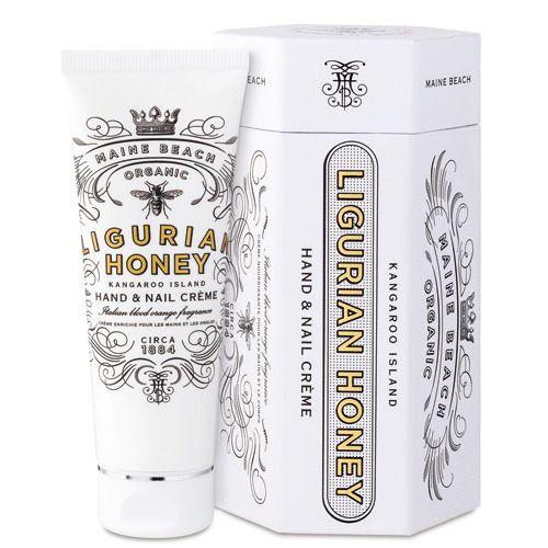 アロマ・ボディケア Sanwa Select / MAINE BEACH マインビーチ LIGURIAN HONEY Series リグリアンハニーシリーズ Hand&Nail Cream ハンド&ネイルクリーム