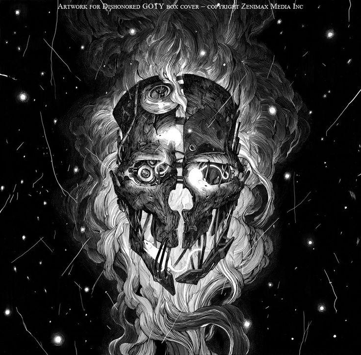 Step into the dark fantasy worlds of artist Nicolas Delort   The Verge