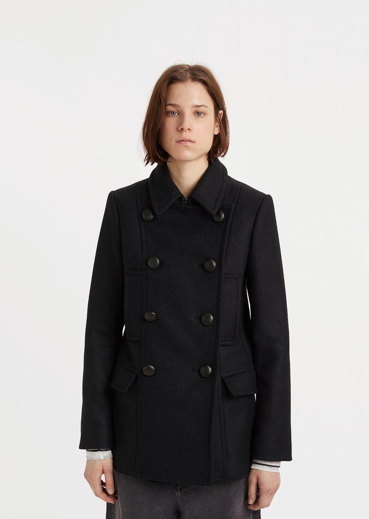 Floffy Short Caban Coat
