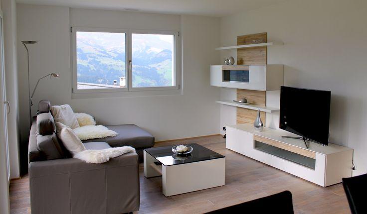 """Elegant vacation apartment """"Kistenstöckli"""" in Obersaxen, Switzerland. Lease here !"""