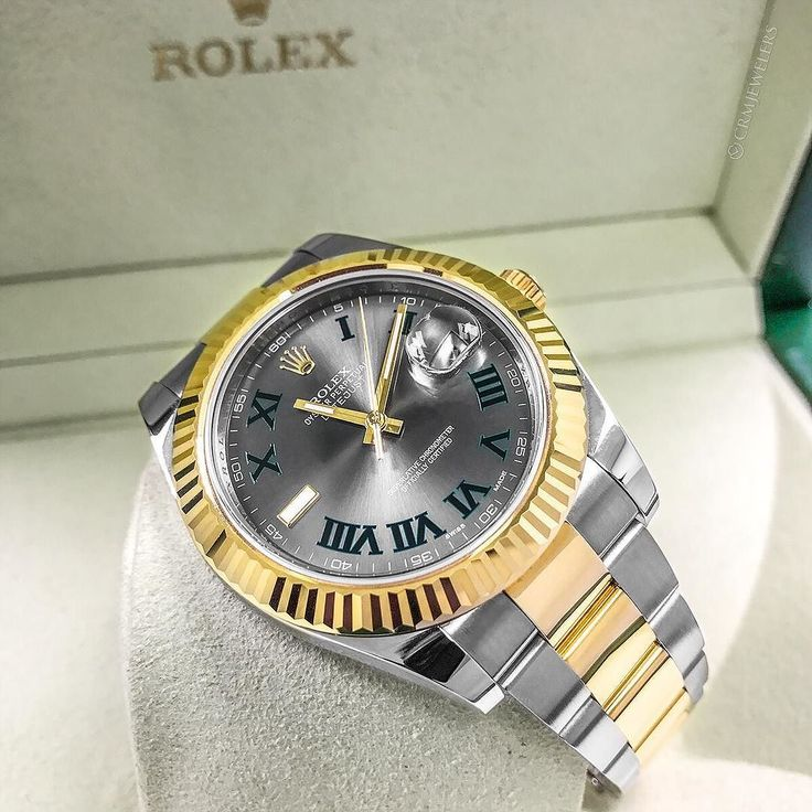 This Two Tone Roman Datejust II 41mm is going to have all heads in the room breaking necks! Trust me! $9500.00 . . . .