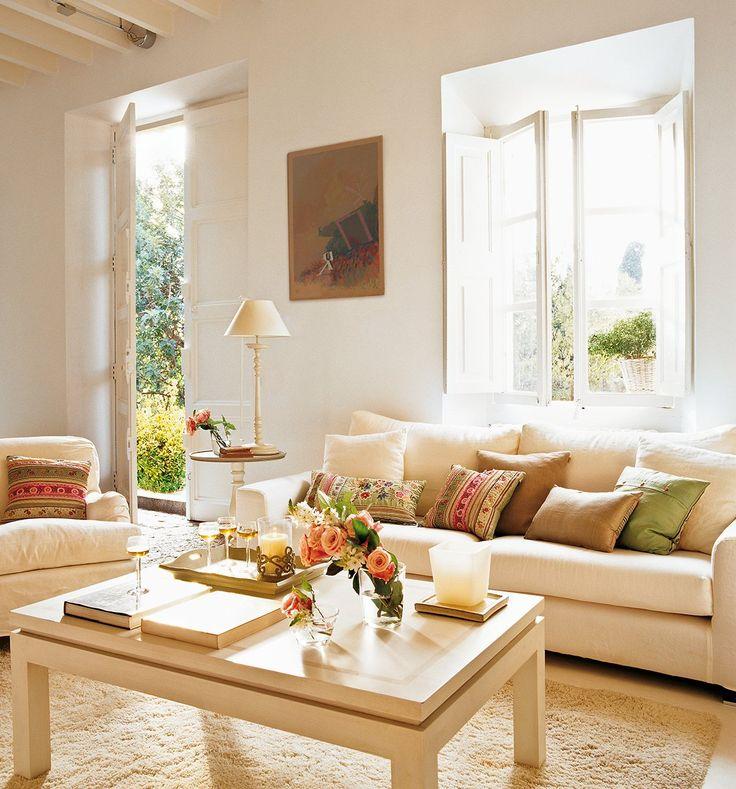 Especial: 30 salones pequeños y confortables · ElMueble.com · Salones#gallery-6#gallery-6